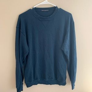 Navy blue oversized thermal